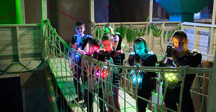 Jungle Laser Tag Mania